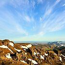 View from Hengill by Ólafur Már Sigurðsson