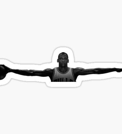 Michael Jordan Wingspan Sticker
