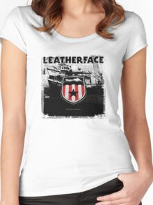 Leatherface T-Shirt Women's Fitted Scoop T-Shirt