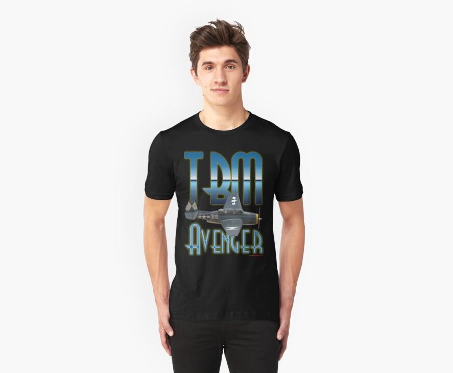 TBM Avenger T-shirt Design by muz2142