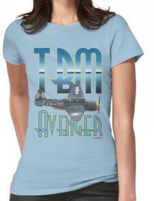 TBM Avenger T-shirt Design Womens Fitted T-Shirt