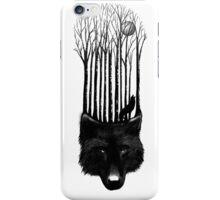 Wolf barcode iPhone Case/Skin