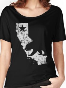 Vintage California State Outline Women's Relaxed Fit T-Shirt