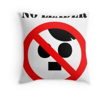 NO LEADER Throw Pillow