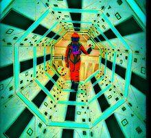 Hallway by crazywaffleman