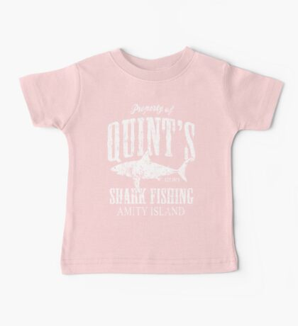 Quints Shark Fishing Amity Island Baby Tee