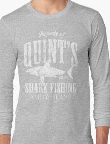 Quints Shark Fishing Long Sleeve T-Shirt