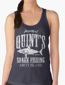 Quints Shark Fishing Women's Tank Top