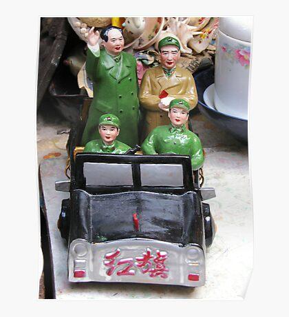 Mao Tse Tung Figurine Poster