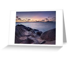 Source D'Argent Twilight Greeting Card