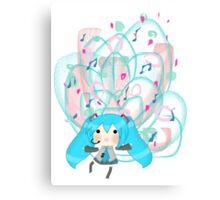 Happy Hatsune (Design 2) Canvas Print