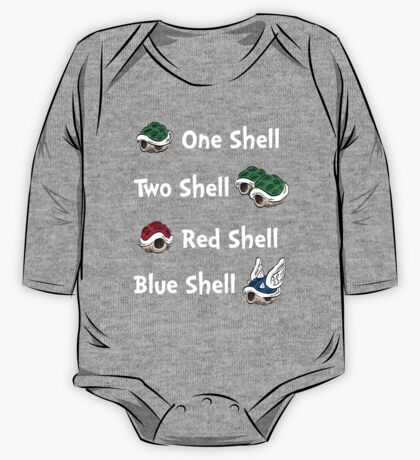 1 Shell 2 Shell One Piece - Long Sleeve