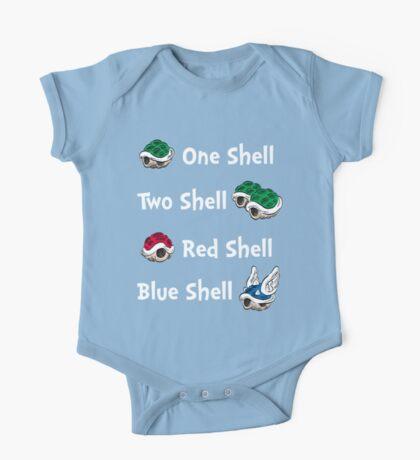 1 Shell 2 Shell One Piece - Short Sleeve