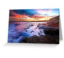 Saltwater Beach NSW Australia Greeting Card