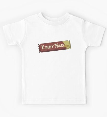 Rick and Morty – Yummy Yums, Now Purgenol Free Kids Tee