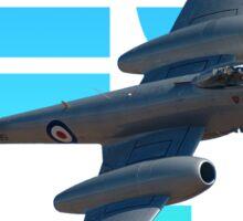 "Gloster Meteor F8 ""Blue Note"" T-shirt Design Sticker"