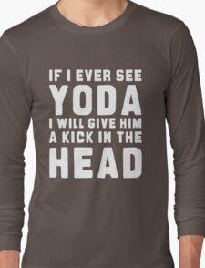 WTF IS YODA ??? Long Sleeve T-Shirt
