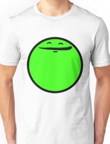 Happy Face (Green) Unisex T-Shirt