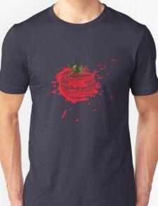 tomato splat Unisex T-Shirt
