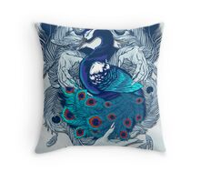 Hands of Creation Throw Pillow