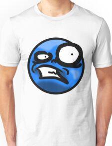 WTF Face (Blue) Unisex T-Shirt