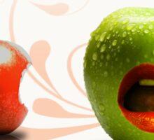 strange fruit2 Sticker