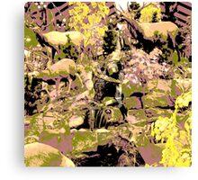 camouflage Canvas Print
