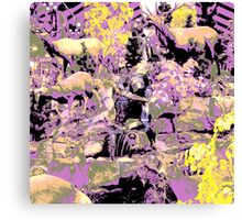 wildlife abstract Canvas Print