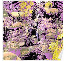 wildlife abstract Poster