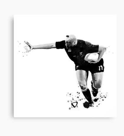 Jonah Lomu - RUGBY Canvas Print