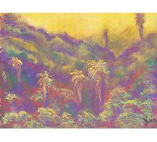 Morning Glow (pastel) Photographic Print