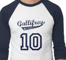Gallifrey All-Stars: Ten (alt) Men's Baseball ¾ T-Shirt
