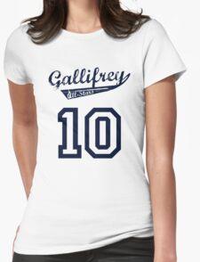 Gallifrey All-Stars: Ten (alt) Womens Fitted T-Shirt