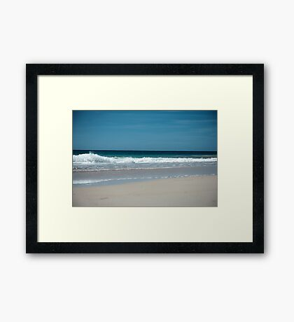 Atlantic Ocean Photography Framed Print