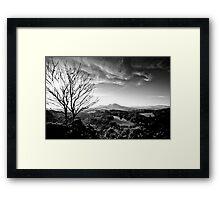 The Eildons, Scottish Borders Framed Print