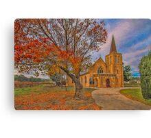 Vineyard Church Canvas Print