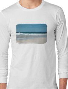 Atlantic Ocean Photography Long Sleeve T-Shirt