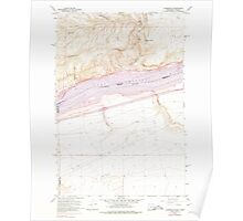 USGS Topo Map Washington State WA Alderdale 239783 1962 24000 Poster