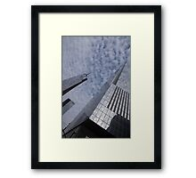 Fascinated with Manhattan - Sky, Glass and Skyscrapers Framed Print