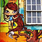 Kelburn Castle Graffiti by timkirman