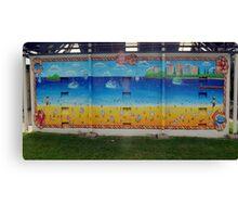wall mural 3 Canvas Print
