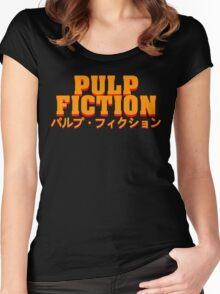 パルプ・フィクション Women's Fitted Scoop T-Shirt