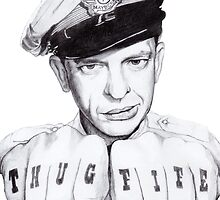 Barney Fife meets Thug Life by noellelucia713