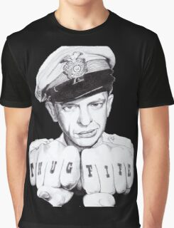 Barney Fife meets Thug Life Graphic T-Shirt