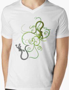 gecko duality Mens V-Neck T-Shirt