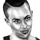 TOWIE'S Bobby Norris by Margaret Sanderson