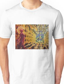 Vision of the fourth dimension Unisex T-Shirt