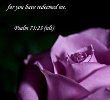 Psalm 71:23 by Deborah McLain