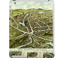 Panoramic Maps Wolcottville Conn iPad Case/Skin