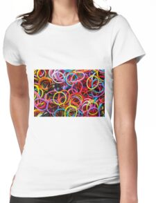 Rubber Bands 2 Womens Fitted T-Shirt